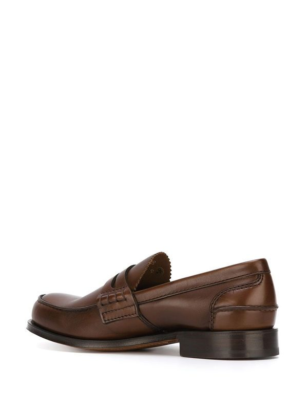 CHURCH'S - Leather Pembrey moccasin