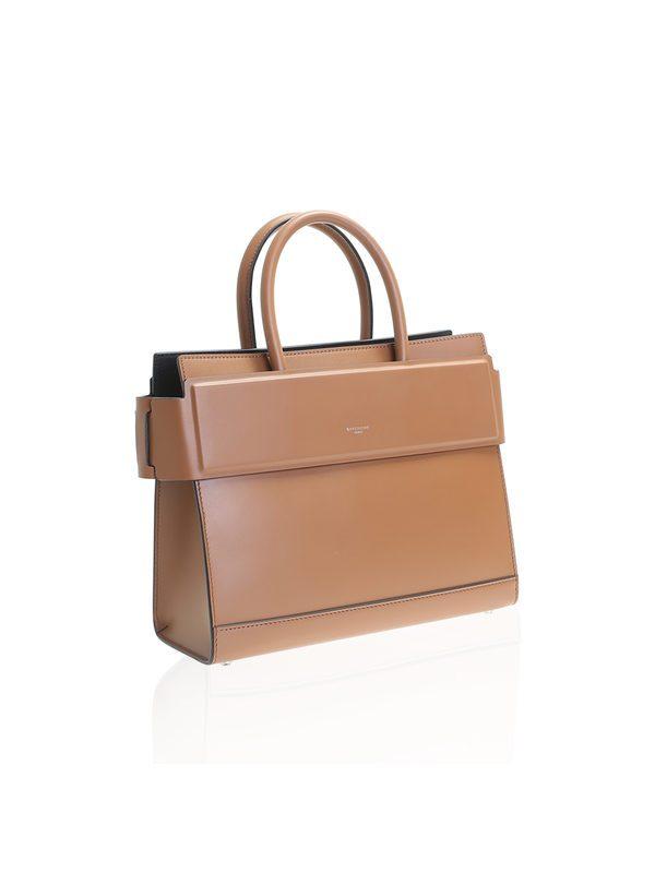 Givenchy - Brown leather Horizon small bag
