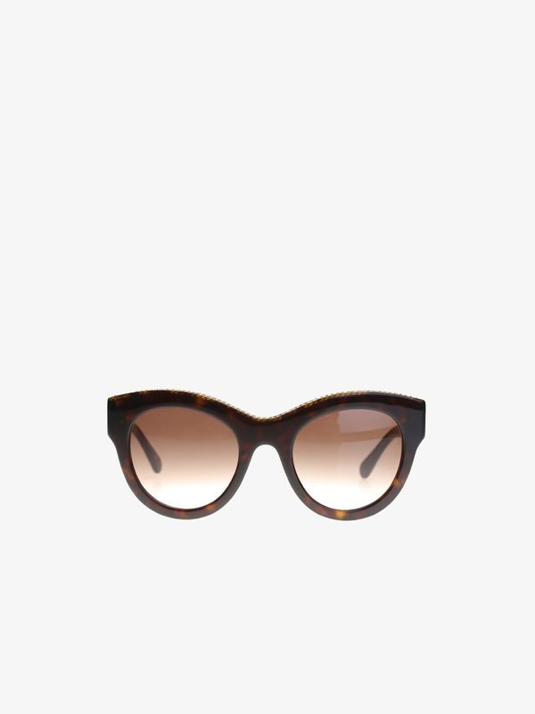 STELLA MCCARTNEY - Acetate Avana sunglasses