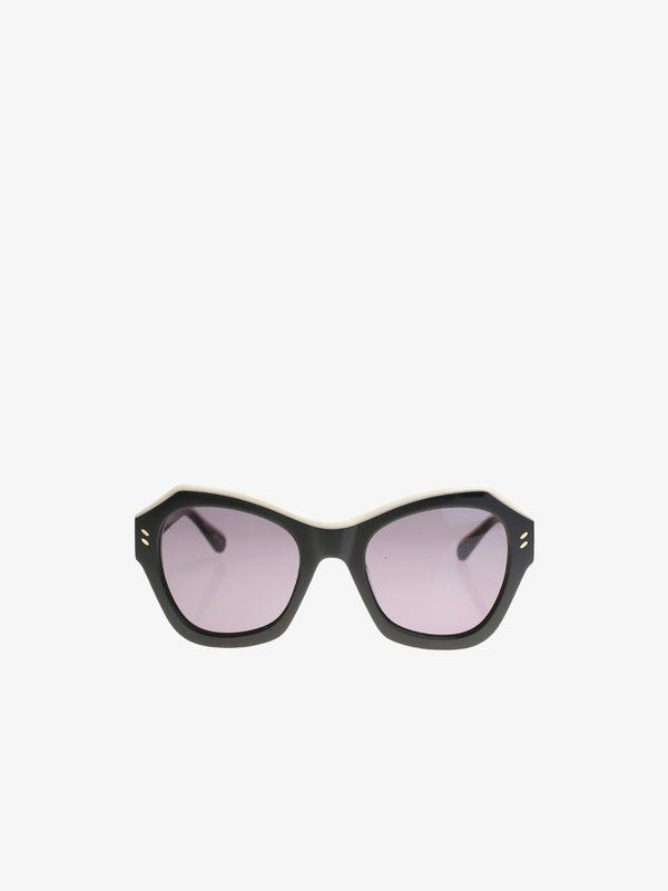 STELLA MCCARTNEY - Acetate Geometrical sunnglasses