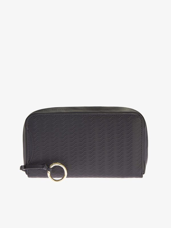 ZANELLATO - Leather Cachemire Blandine zip-around wallet