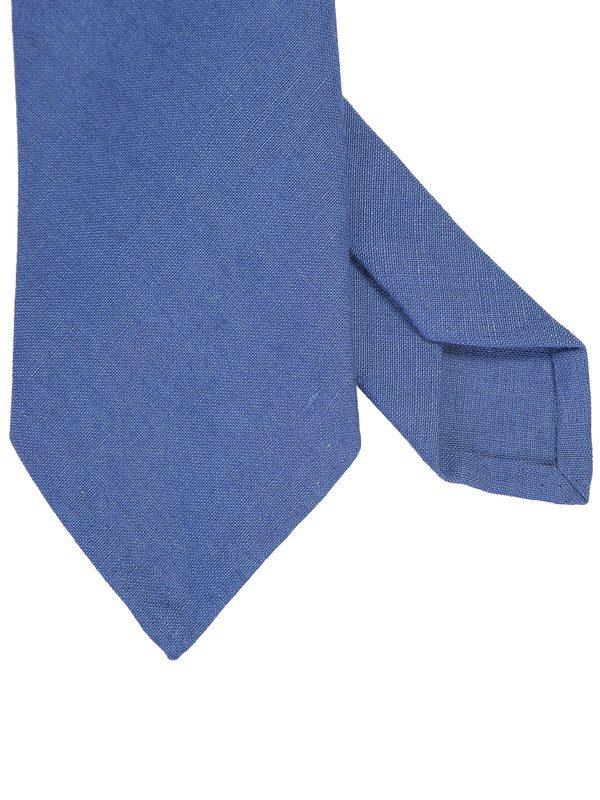 DELL'OGLIO - Azure line tie