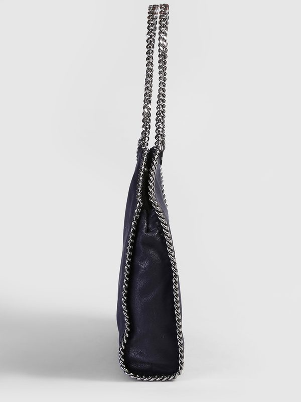 STELLA MCCARTNEY - Faux leather Falabella tote