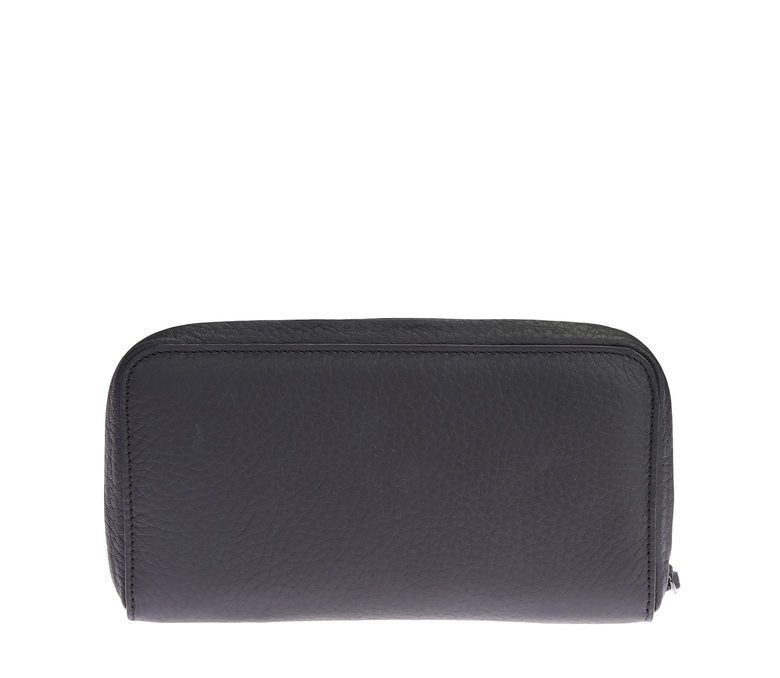 ZANELLATO - Leather wallet with metal detail