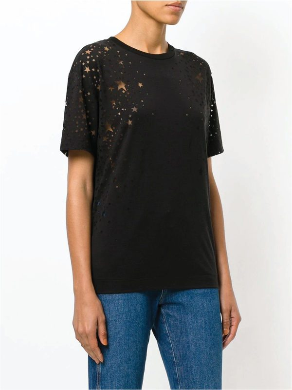 STELLA MCCARTNEY - Cotton blend Mini Star T-shirt