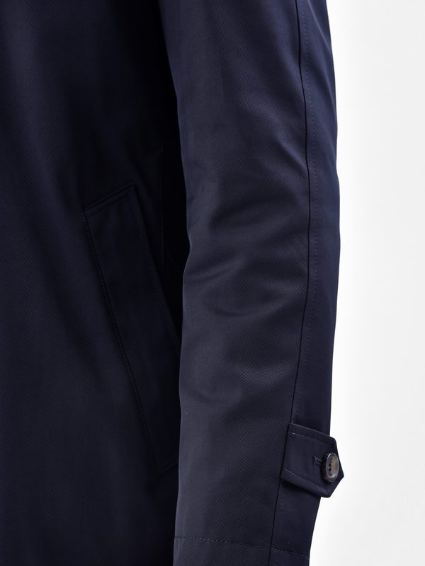 DELL'OGLIO - Cotton blend 3/4 coat