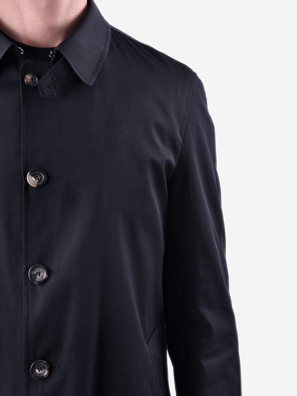 DELL'OGLIO - Cotton blend 3/4 coat