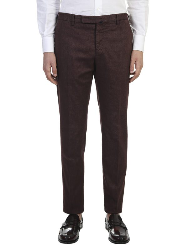 INCOTEX - Stretch cotton trousers