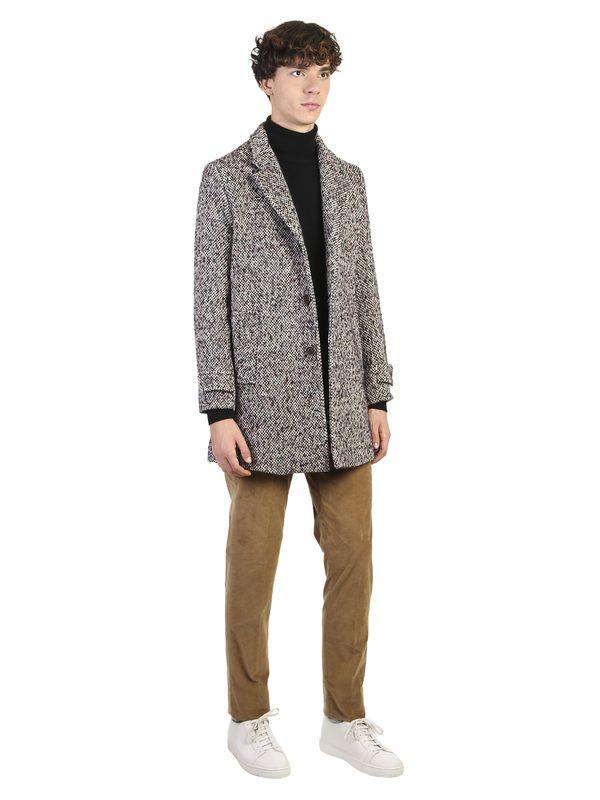 INCOTEX - Stretch velvet trousers