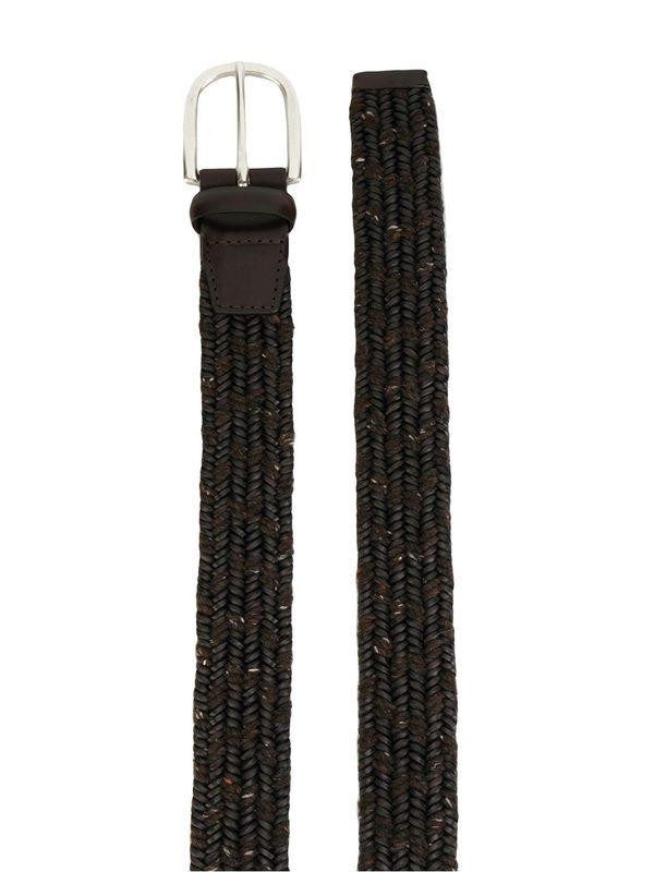 ORCIANI - Braided leather belt