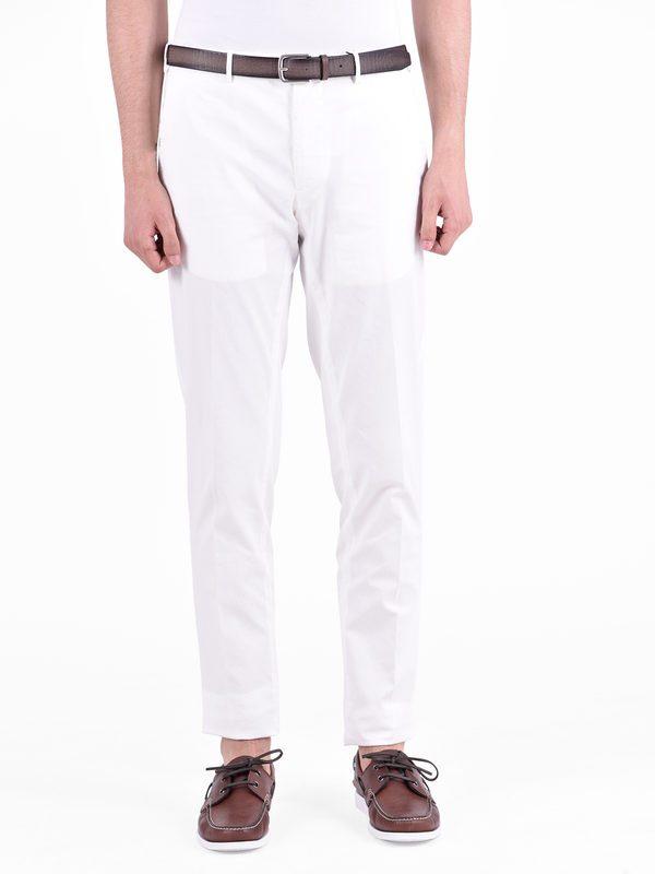 DELL'OGLIO - Cotton trousers