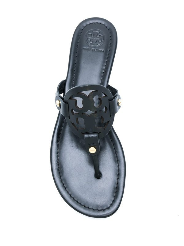 TORY BURCH - Leather Miller sandals
