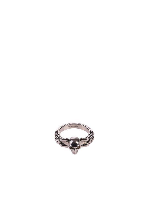 ALEXANDER MCQUEEN - Metal ring
