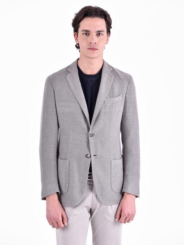 DELL'OGLIO - Cotton blend jacket