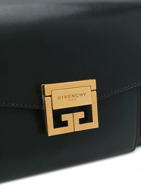 GIVENCHY - Small GV3 leather bag