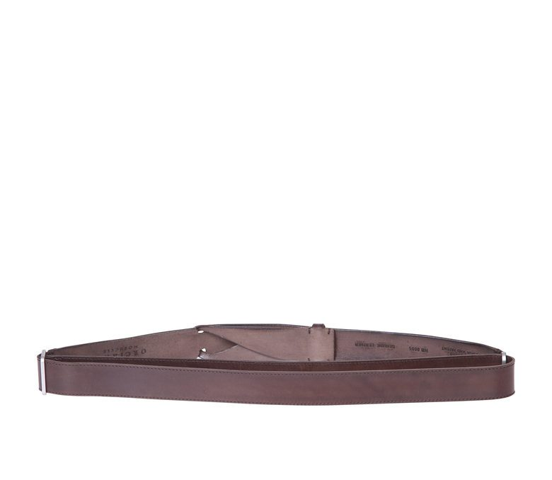 ORCIANI - Nobuckle leather belt