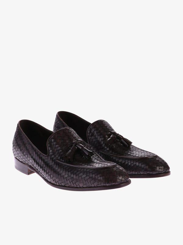 woven loafers - Black Dell'Oglio hBPLz