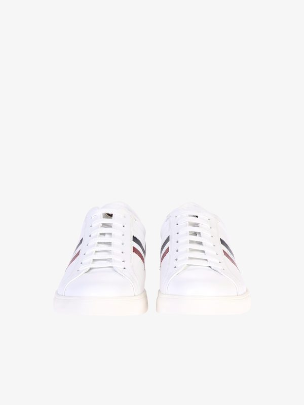 MONCLER - Leather sneakers