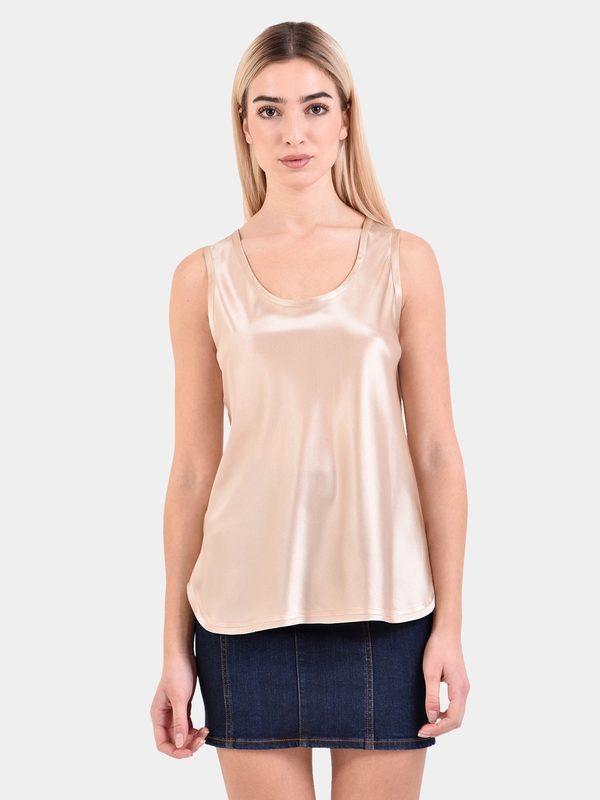BLANCA - Satin silk top