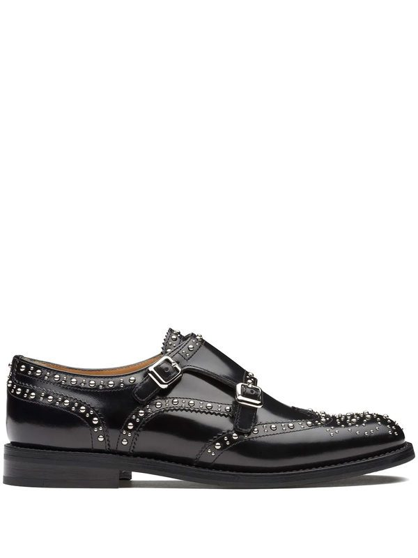 CHURCH'S - Sybille studded leather shoes