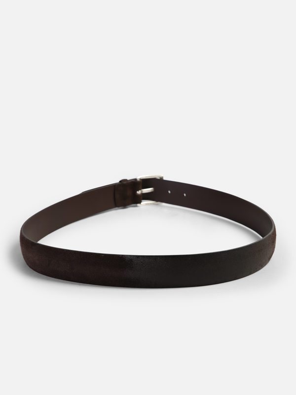 ORCIANI - Suede leather belt