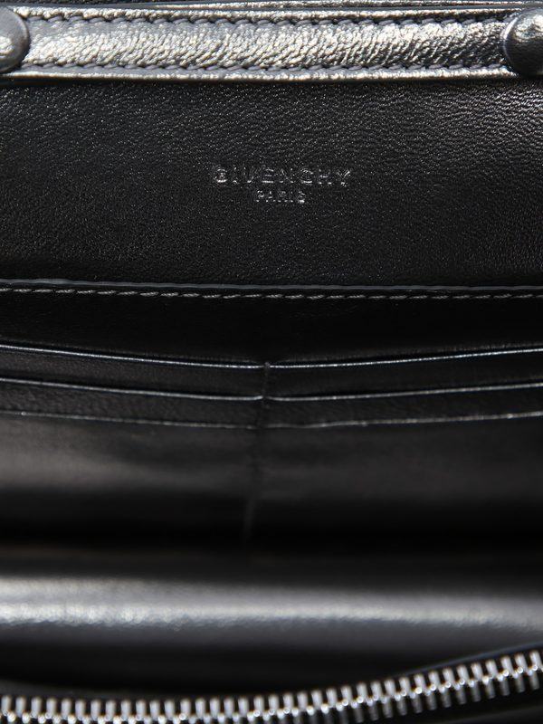 GIVENCHY - Leather wallet on chain