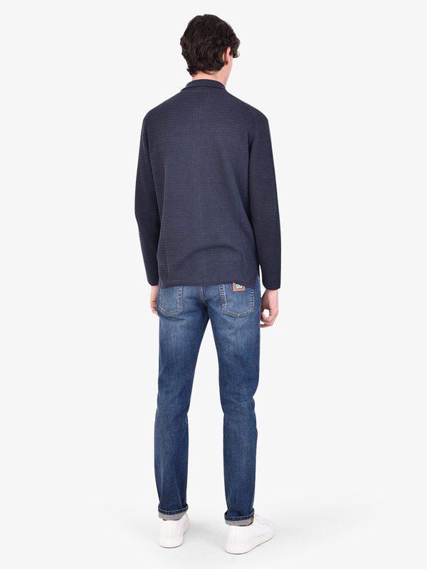 DELL'OGLIO - Linen cardigan