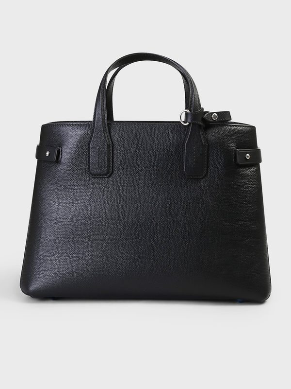 BURBERRY - Banner M leather bag