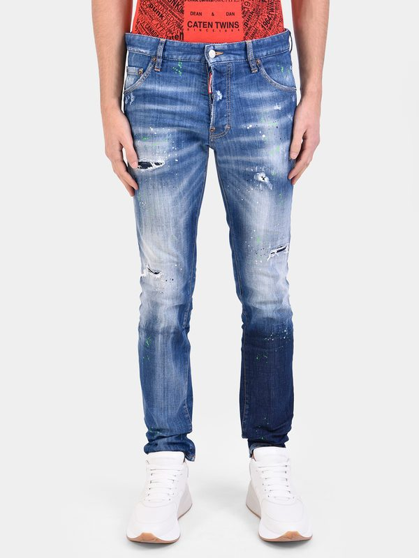 DSQUARED2 - Distressed denim jeans