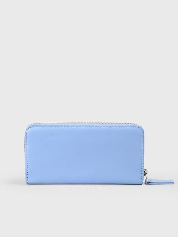 KENZO - Leather all-around zip wallet