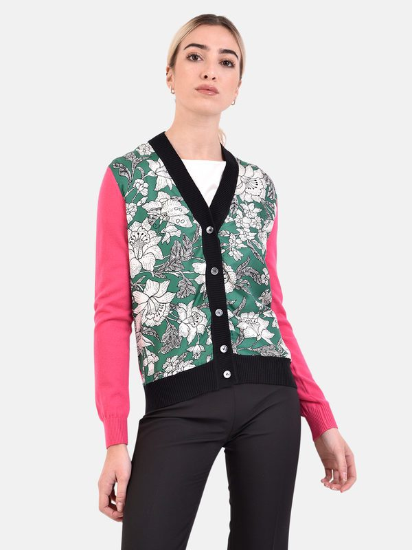 LA DOUBLE J - Silk and wool cardigan