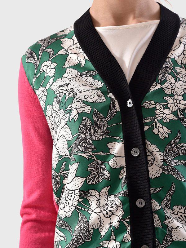 LA DOUBLE J - Silk and wool cardigan