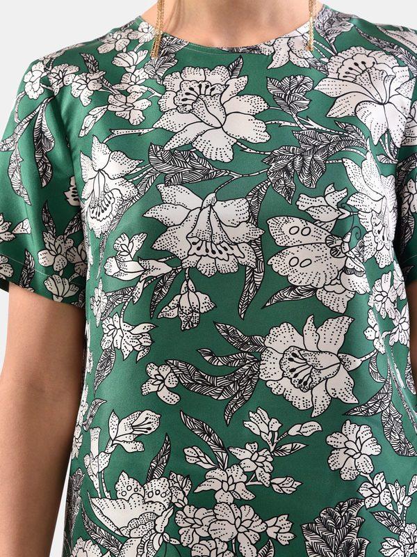 LA DOUBLE J - Printed silk blouse