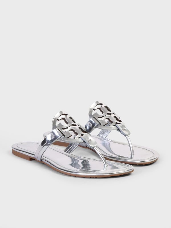6b3d8bafd Sandals - TORY BURCH - Miller leather sandals