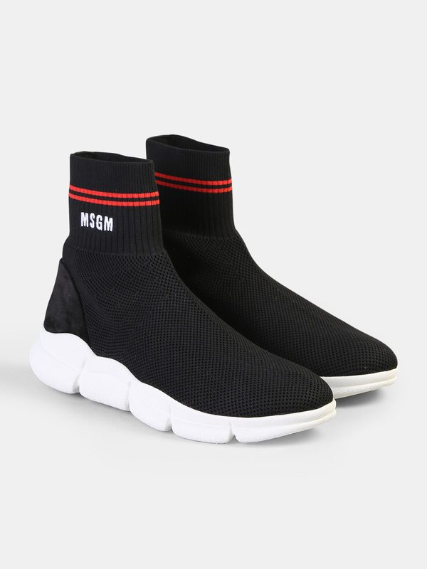 MSGM - Stretch knit sneakers