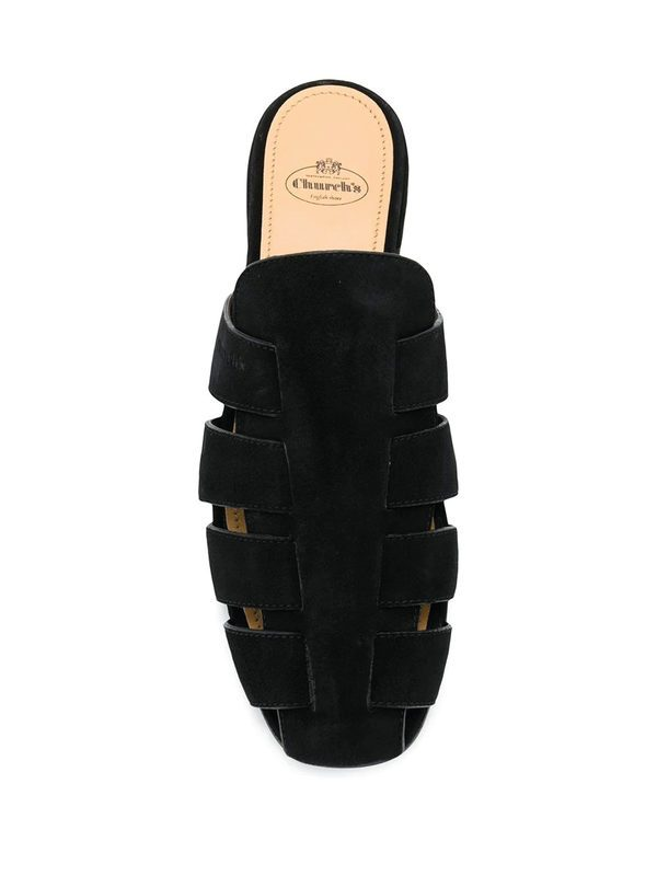 CHURCH'S - Becky suede leather shoes
