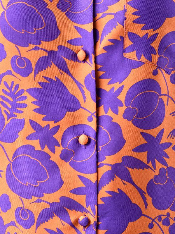 LA DOUBLE J - Printed silk twill shirt