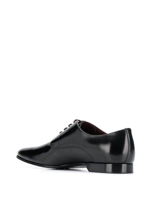 DOLCE & GABBANA - Brushed leather derby shoes