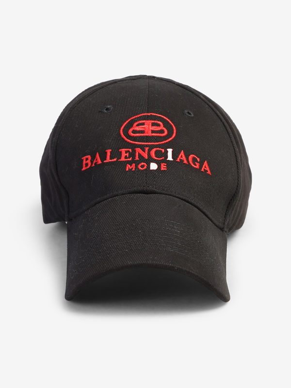 BALENCIAGA - Embroidered baseball hat