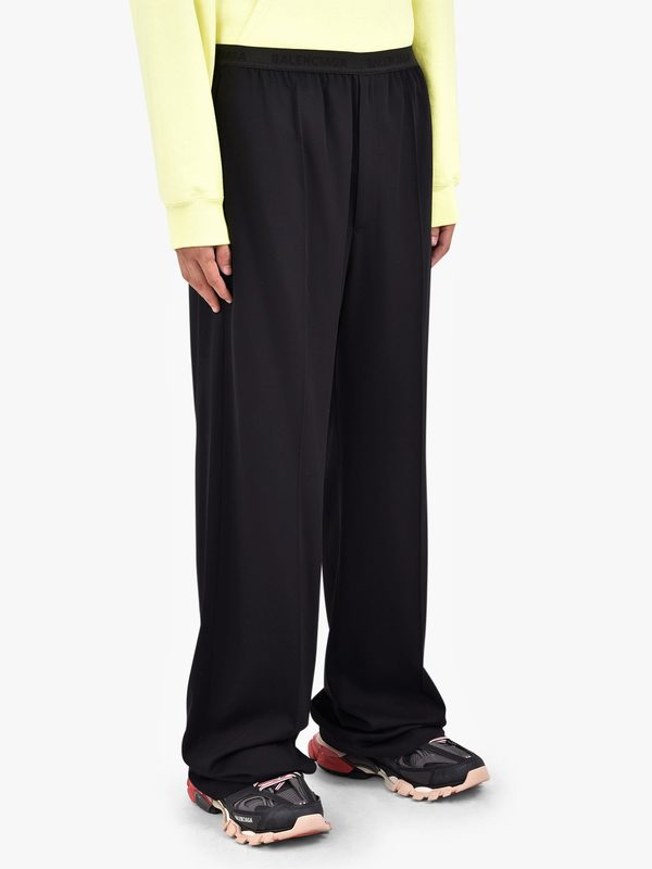 BALENCIAGA - Viscose and wool trousers