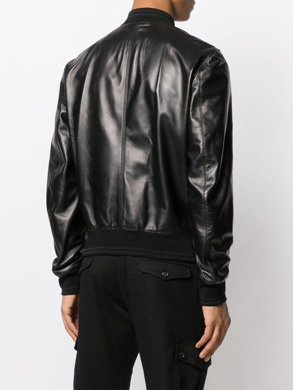 DOLCE & GABBANA - Leather jacket