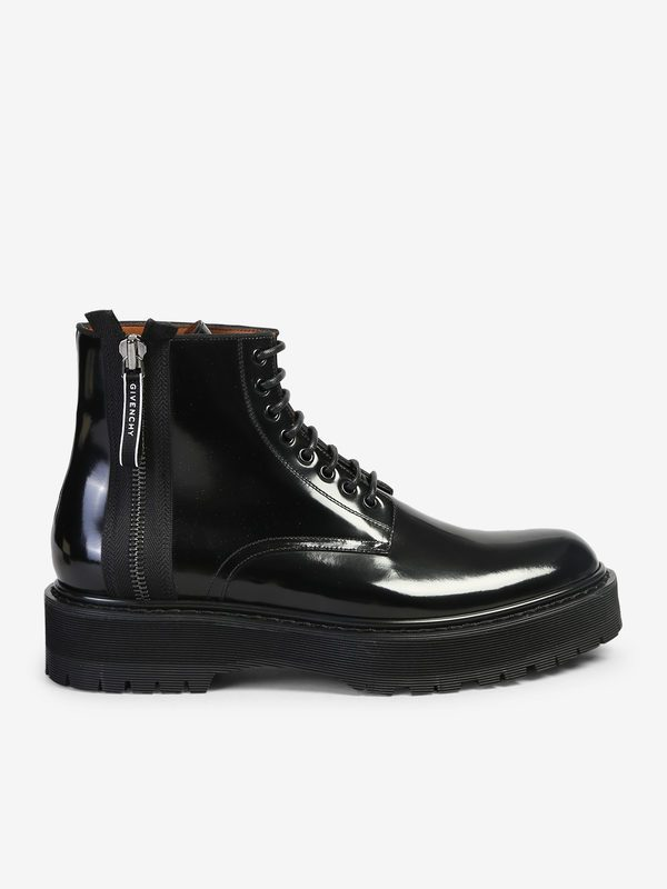 GIVENCHY - Camden brushed leather ankle boots