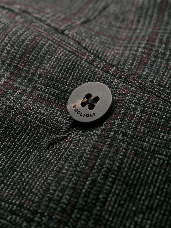 BOGLIOLI - Virgin wool suit