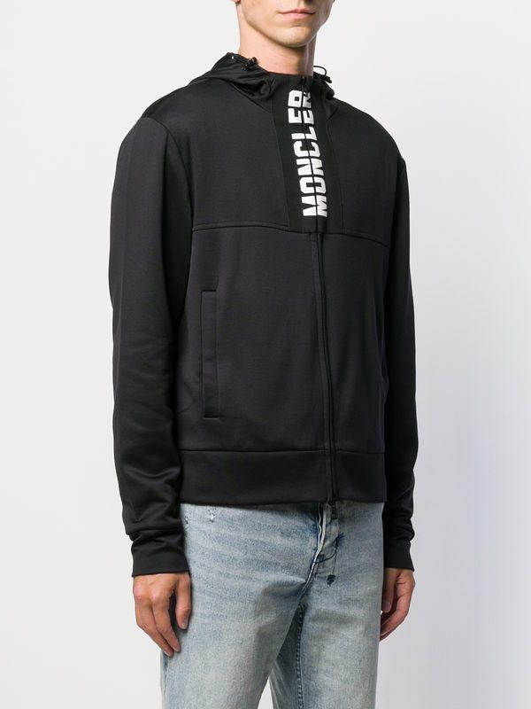 MONCLER - Cotton blend sweatshirt
