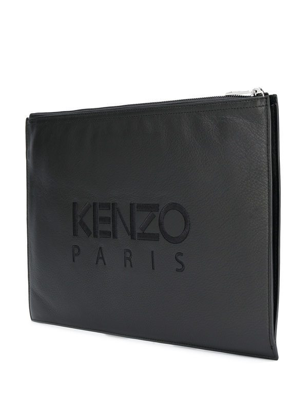 KENZO - Leather pouch