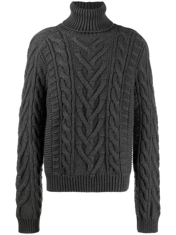 DOLCE & GABBANA - Wool and cashmere sweater