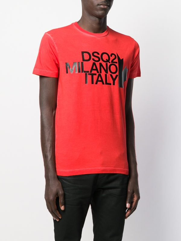 DSQUARED2 - Printed cotton T-shirt