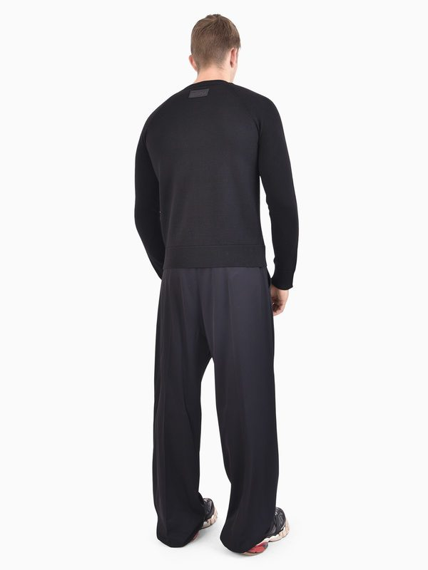 DSQUARED2 - Logo band wool and viscose sweater