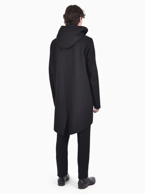 RICK OWENS - Virgin wool coat