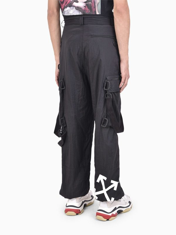 OFF-WHITE - Bondage cargo trousers